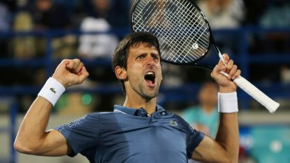 Djokovic heeft eerste toernooizege al binnen - Goffin treft qualifier in eerste ronde in Doha