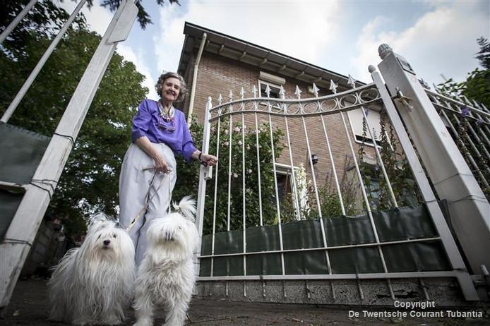 De 80-jarige Gerrie Benneker-de Vries runt haar eigen bed & breakfast