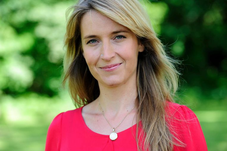 Presentatrice van De rijdende rechter Jetske van den Elsen. Beeld ANP