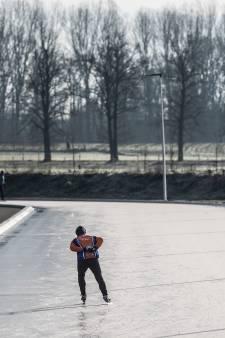 Het kon héél even: schaatsen in Winterswijk