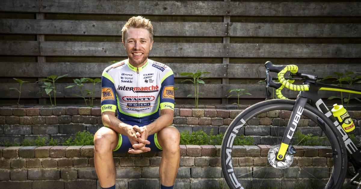 Wielrenner Maurits Lammertink ernstig gewond na ongeluk.