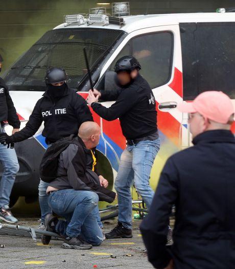 Politie geeft nieuwe beelden vrij van gezochte verdachten na rellen NAC-NEC