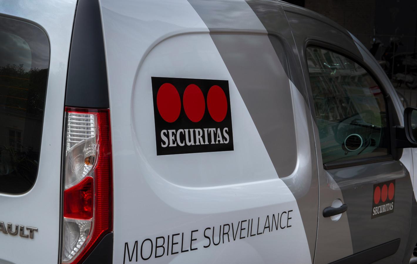 Securitas beveiliging.