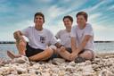 Zoons Boerkamp: Mike, Robbie en Jim.