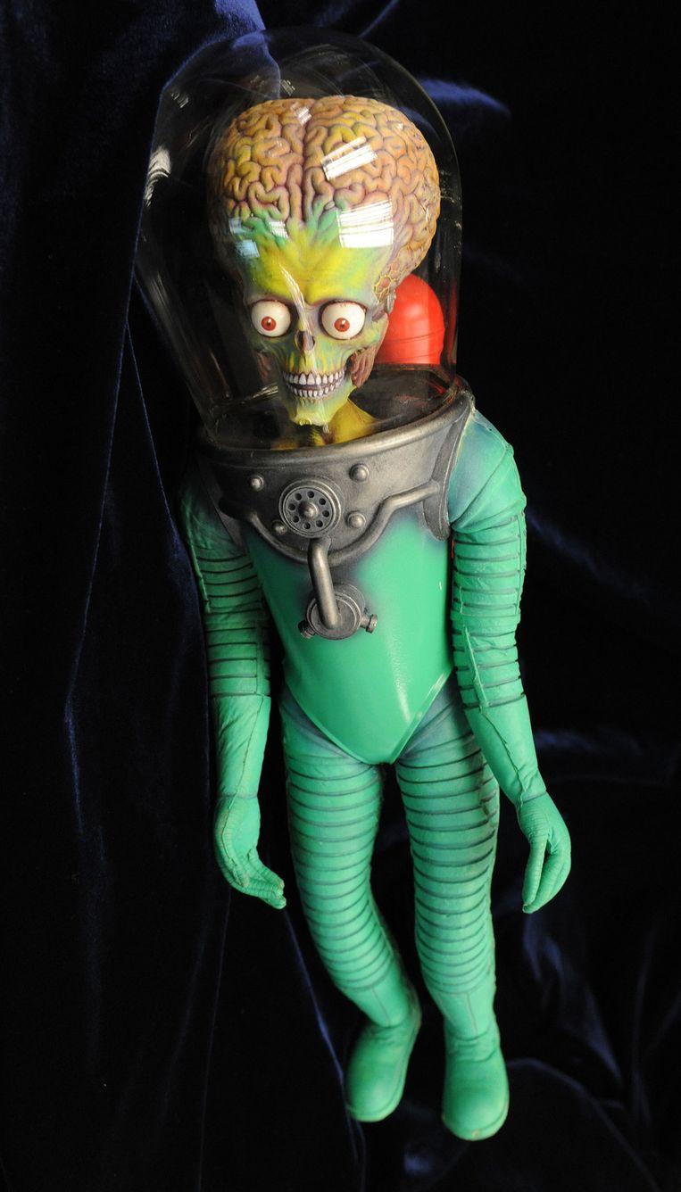 Een poppetje uit de film Mars Attacks! © AFP Beeld