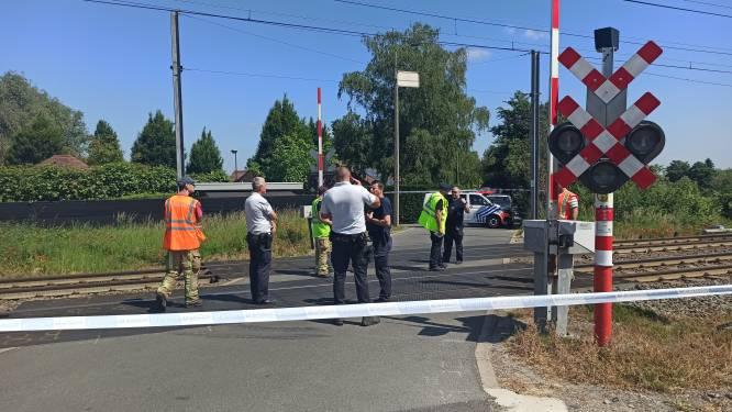 Treinverkeer onderbroken na aanrijding op het spoor in Astene