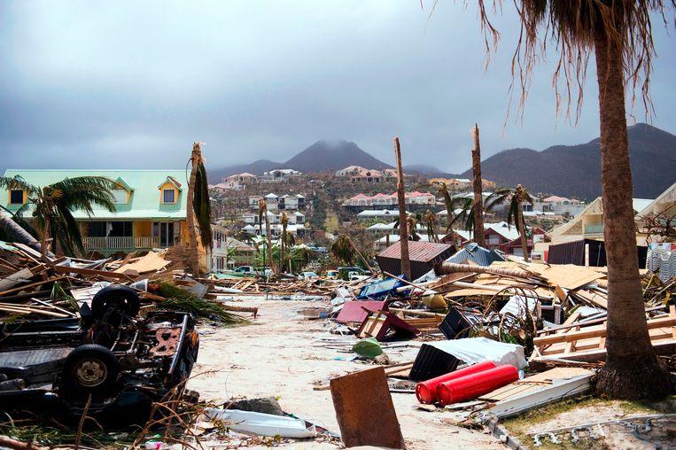 Orkaan Irma richtte in 2017  vreselijke vernielingen aan, onder meer op het eiland Saint-Martin in de Caraïben.