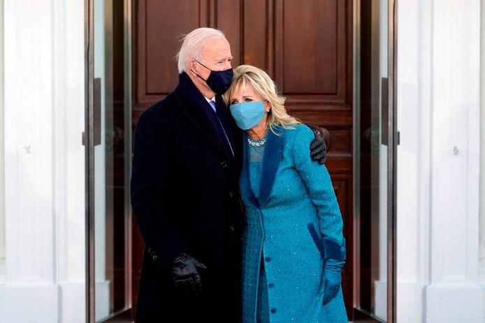 Joe en Jill Biden.