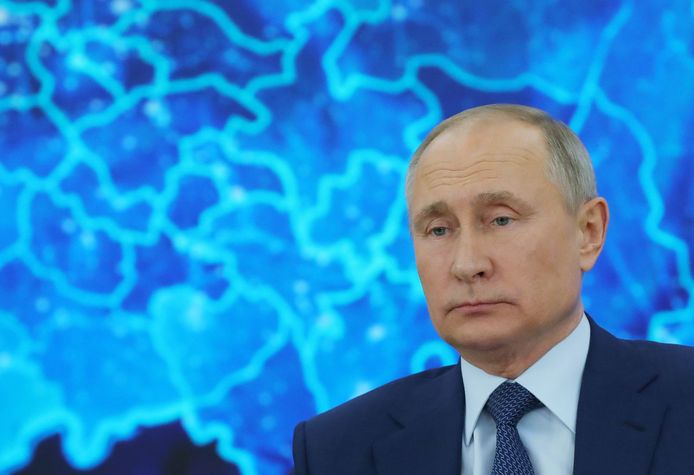 De Russische president Vladimir Poetin