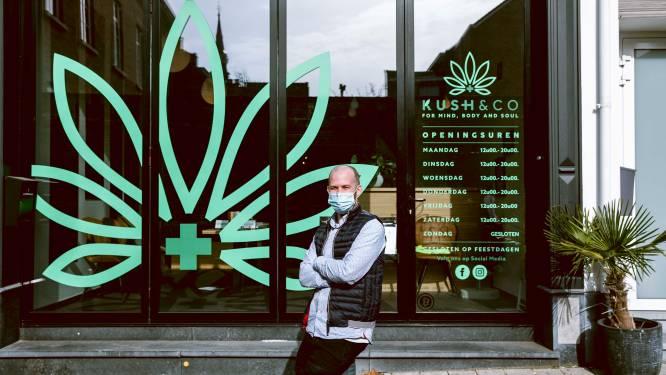 """Uitbater Marco (33) mag na beslissing Raad van State 'cannabisshop' Kush&Co opnieuw openen: """"Ze wilden me de kop indrukken, maar ik bleef volhouden"""""""