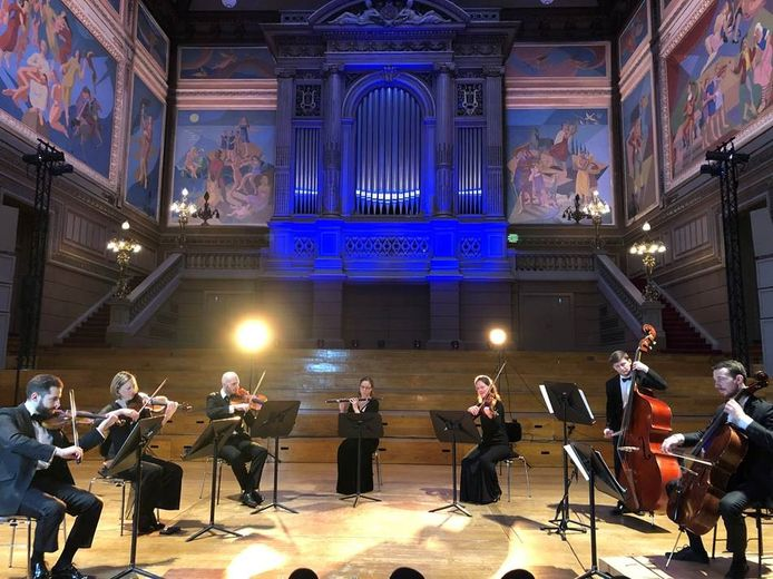 Sept musiciens de l'Orchestre Philharmonique Royal de Liège interpréteront la Symphonie n°4 de Beethoven au CHR de la Citadelle.