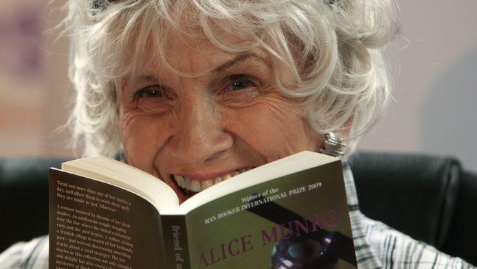 Alice Munro won de Nobelprijs vorig jaar.