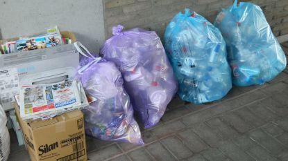 Blauwe zak wordt vanaf januari ook in Knesselare paarse zak
