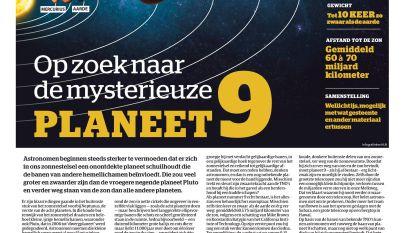 Op zoek naar de mysterieuze planeet 9
