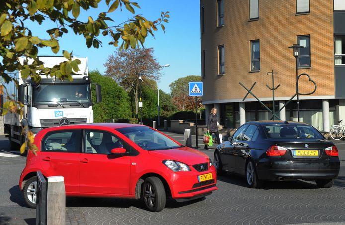 Nu al is het centrum van Arnemuiden een verkeersknelpunt.