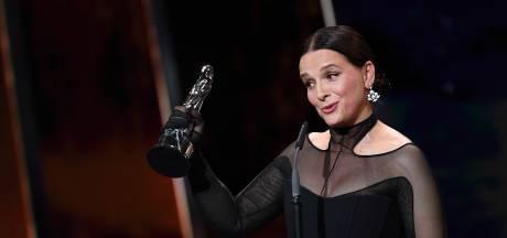 Juliette Binoche honorée pour sa carrière aux European Film Awards