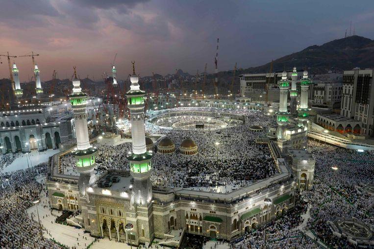 De Grote Moskee in Mekka. Beeld REUTERS