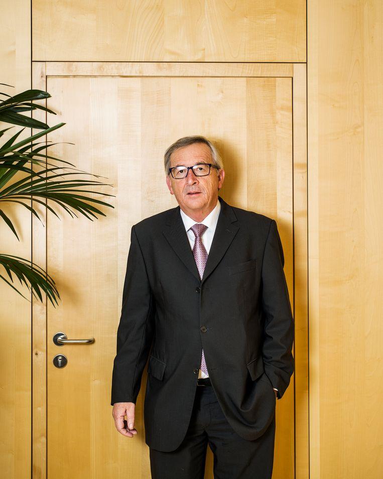 'De bankwereld is niet mijn wereld. Mijn vader, die metaalarbeider was, zei altijd: vergeet nooit waar je vandaan komt.'  Beeld Jiri Büller