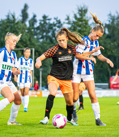 PSV Vrouwen trapt af met ruime zege op Heerenveen