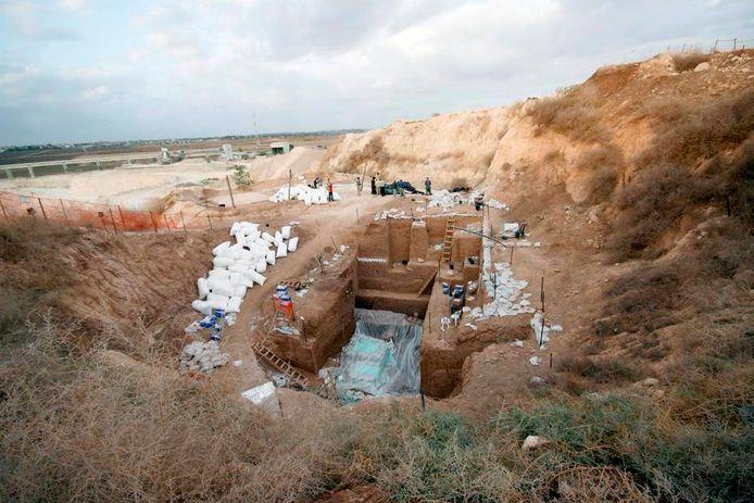 Situs menemukan tulang di Ramle.