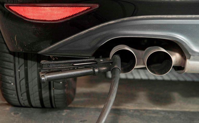 Het dieselgate-schandaal heeft het Volkswagenconcern al 33 miljard euro gekost. Beeld AFP