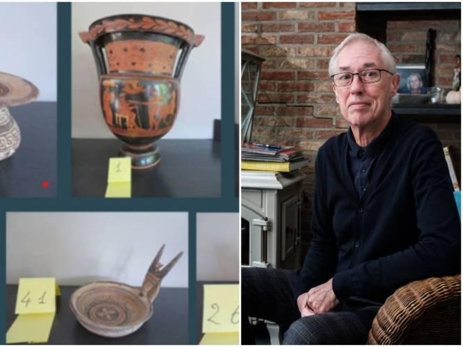 """Antwerpenaar had voor 11 miljoen euro aan gestolen artefacten in zijn bezit: """"Zo'n operatie fix je nooit alleen"""""""