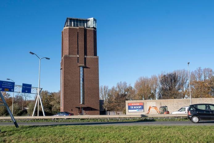 Watertoren bij het IK-eiland in Oost-Souburg.
