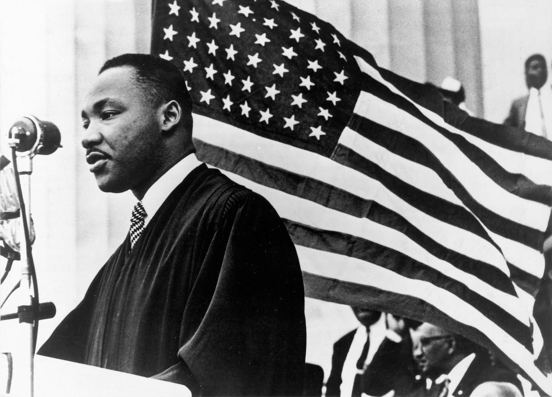 Na zijn 'I have a dream'-toespraak beschouwde de FBI King als gevaarlijk, met een jarenlange lastercampagne als gevolg. Beeld photo_news