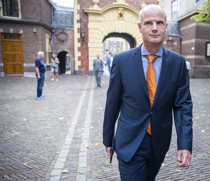 Minister Blok op het Binnenhof