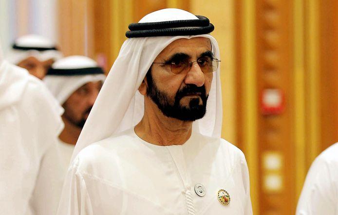 Mohammed ben Rached al-Maktoum, dirigeant de l'émirat de Dubaï et Premier ministre des Émirats arabes unis