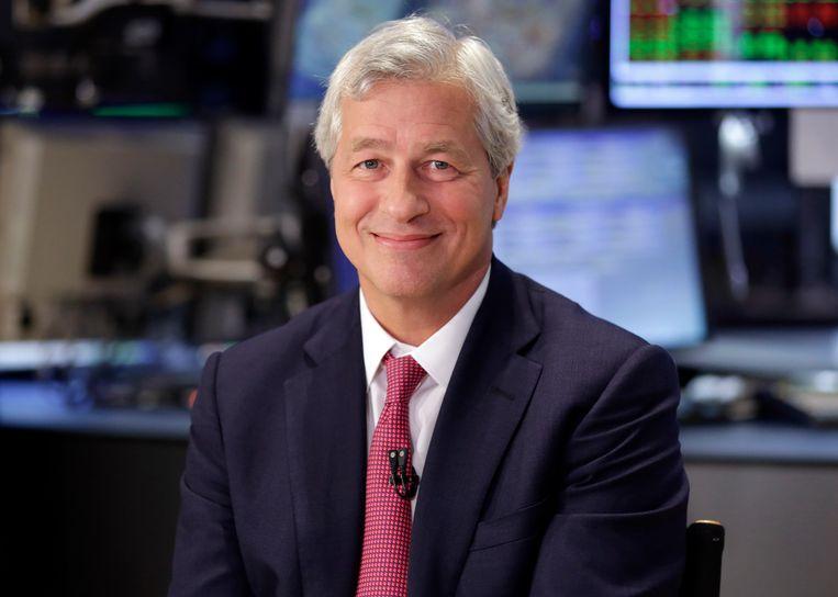 Jamie Dimon, topman van de grote Amerikaanse bank JPMorgan Chase. Beeld ap