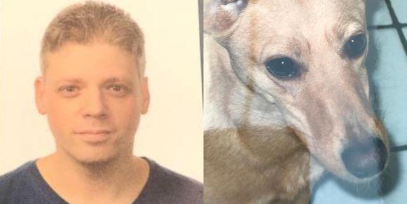 Hasselaar Sven en zijn hondje Laïko zijn in dezelfde week overleden.