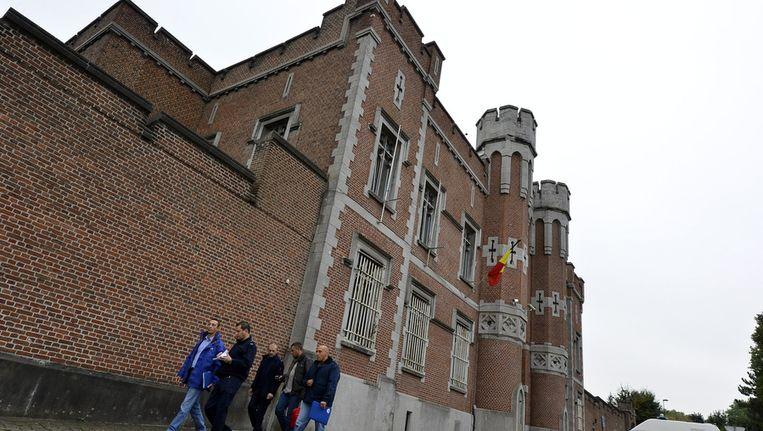 De gevangenis van Doornik. Beeld BELGA