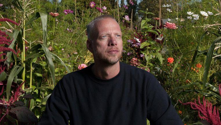 Marco Versluis: 'Elke dag is een blank canvas. Er is een studio, daarin staat een tafel en daarachter zit Matthijs van Nieuwkerk. Die basis is al DWDD genoeg.' Beeld Rogier van `t Slot