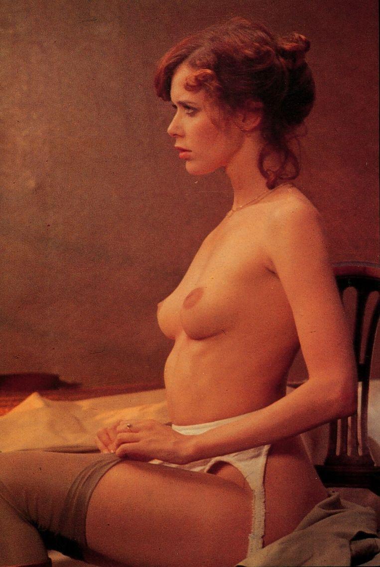 Sylvia Kristel in de film Emmanuelle, 1974. Beeld null