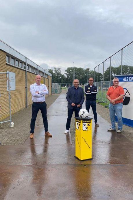 Voetbalvereniging Strijen krijgt nieuwe kleedkamers: 'Een mooi jubileumcadeau'