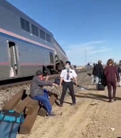 Trein ontspoort in VS, 3 doden en tientallen gewonden