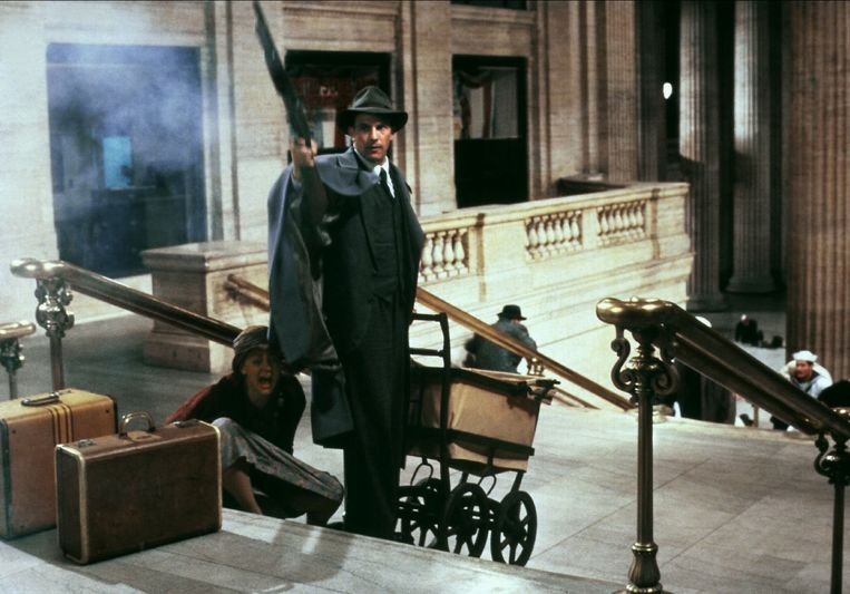 Kevin Costner in The Untouchables. Beeld