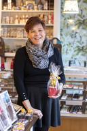 """Wendy Paus tussen de chocola in Torino: """"Kans niet laten lopen""""."""