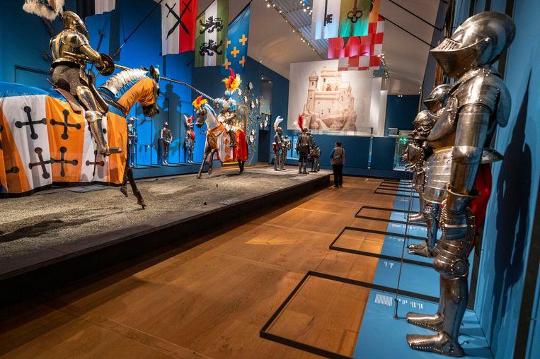 De tentoonstelling Romanovs in de ban van de ridders in de Hermitage is sinds deze week gesloten.  Beeld Hollandse Hoogte /  ANP