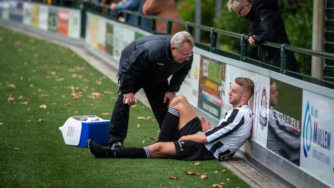 Arnhemse voetballer breekt pols op meerdere plekken na ongelukkige val in stadsderby