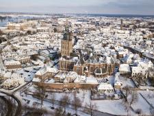 Dronefotograaf Steven de Vries heeft smaak weer te pakken: zo zien de vogels winters Zutphen