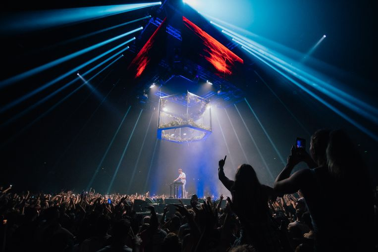 Concert Netsky in Auckland, Nieuw-Zeeland. Beeld Joel McDowell