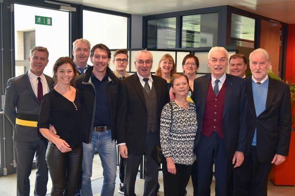 gouden jubileum Tervuren Denis Dobbelaere en Renee Moons