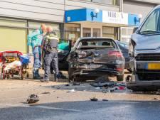 Ravage na ongeluk in Woerden: bestuurder gewond