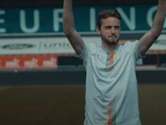 """KV Oostende stelt in filmpje nieuw jubileumshirt voor: """"Onder meer knipoog naar wapenschild van de stad en oude clublogo"""""""
