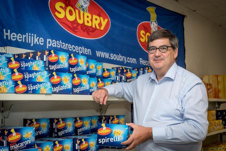 Zaakvoerder Michel Soubry steunt maar al te graag het goede doel.