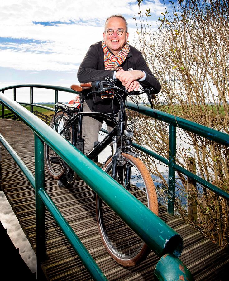 Peter Stein fietste naar alle 352 Nederlandse gemeenten.