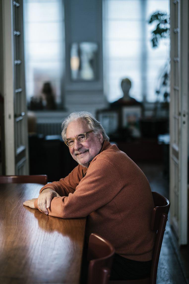 Eric Corijn. Beeld Wouter Van Vooren