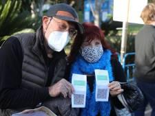 'Zorgwekkende scheiding in de samenleving' door Israëlisch vaccinatiepaspoort